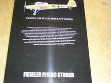 Tamiya 1/48 Fieseler Fi 156 C Storch Model Air Avion Kit #61100
