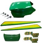 New Upper &Lower Hood/Bumper/LH & RH Stickers Fits John Deere GX355