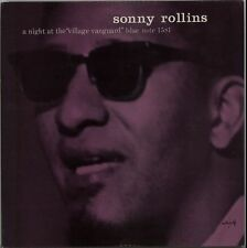 SONNY ROLLINS - A NIGHT AT THE VILLAGE VANGUARD - CD NEW SEALED