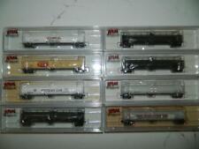 Atlas N Scale Train 33,000 gallon Tank Cars VARIOUS ROADS  Price Per car NOS/NIB