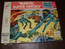 Vintage Marvel Puzzle Milton Bradley Fantastic Four Rare Marvelmania 1967