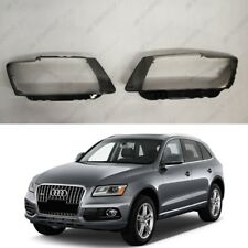 AUDI Q5 Pre LCI Original Headlight Glass Headlamp Lens Cover (PAIR)