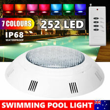 Swimming Pool 12V 252LED Light RGB + Controller- Bright Multi-Colours- Retro Fit