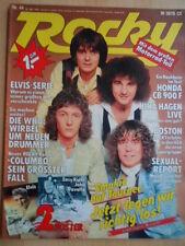 ROCKY 44- 26.10. 1978 (2) Smokie Sex Pistols Boston Beatles Elvis Who Nina Hagen