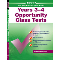 New Excel Opportunity Class Maths and Eng Test Year 3-4 Workbook! OC! SELECTIVE!