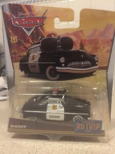 Disney Pixar Cars Rd Tr1p Road Trip Sheriff Mattel 1.55 Scale BNIB