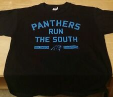 Carolina Panthers Black 2014 NFC South Division Champions T Shirt