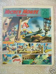 1950 MICKEY MOUSE WEEKLY Comic, 15 July 1950