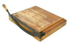 Vintage Paper Trimmer Cutter Guillotine - FREE Postage [PL4631]