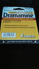 DRAMAMINE 4CT TABLETS