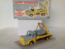 DINKY TOYS FRANCE N° 895: CAMION UNIC MULTIBENNE MARREL JANTES CONCAVES