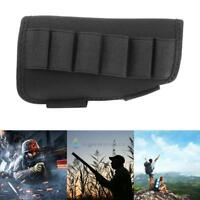 Military Tactical Hunting Rifle Bullet Shotgun Stock Pouch Bag Holder Cheek Pad