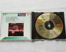 VALENTE-KLEINMANN-LONDON-SERKIN/SCHUBERT - BRAHMS Lieder CD SONY SBK 48176(1992
