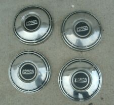 Ford Dog Dish Hubcaps 60s 70s Mustang Cougar Torino Fairlane Galaxie 10 12 Fits Fairlane