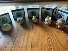Lot Of 5 Harmony Kingdom/ Harmony Ball Pot Bellys Excellent condition