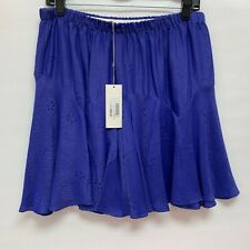 Self-Conscious Nwt Banana Republic Blue Silk Skirt Size 6 Clothing, Shoes & Accessories