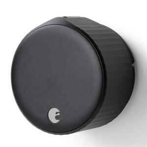 August Door Lock Keyless Wireless Single Cylinder Deadbolt Bluetooth Wi Fi Metal