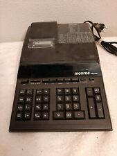 Monroe Ultimate Printing Calculator Black