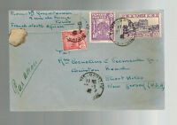 1946 Tunis Tunisia airmail Cover to USA