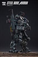 JOYTOY 1/25 Steel Bone Armor Grey Figure 51921011 Soldier 22cm Body Model