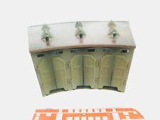 bm640-4# MÄRKLIN H0 7028 Sheet Metal Roundhouse/Engine Shed 3-ständig,2nd Choice