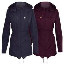 Women's No Pattern Polyester Raincoats Outdoor Coats & Jackets