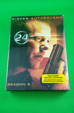 24 - Season 5 (DVD, 2009, 7-Disc Set) Kiefer Sutherland Jack Bauer Brand New