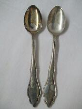 Vintage 18-10 NICA 100 J Silver plate 2 teaspoons
