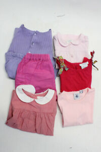 Jacadi Girls Childrens Dress Top Shorts Pink Red 36 Months Lot 6