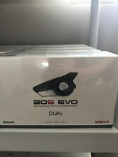 New Sena 20S Evo Motorcycle Bluetooth Communication System 20S-EVO-01D DUAL PACK
