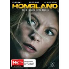 HOMELAND - THE COMPLETE FIFTH 5 SEASON- DVD AU 4 - BRAND NEW SEALED 4-DISC SET