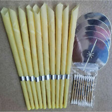 10pcs Ear-Wax Removal Candle  Care Relax Cleaning Hollow Candle USA STOCK