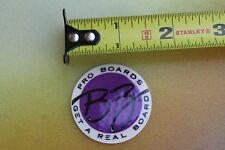 BZ Surfboard Bodyboards Real Pro Boogie Board Morey Neon Vintage Surfing STICKER