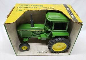 Vintage John Deere Generation II Tractor 4430 / 4440 By Ertl 1/16 Yellow Top Box
