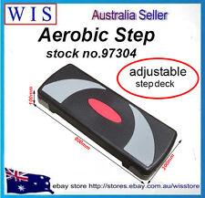 80cm Fitness Aerobic Step Adjust 10cm-15cm-20cm Exercise Stepper w/Risers-97304