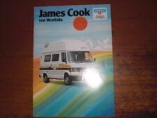 Prospekt Sales Brochure Westfalia James Cook Wohnwagen Transporter   автомобиль