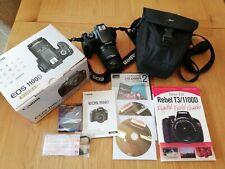 Canon EOS 1100D 12.2MP Appareil Photo Reflex Numérique-Noir (Kit Avec EF S IS II 18-55 mm...