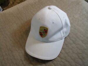 Porsche WAP0800040C White Hat with Crest