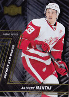 16-17 Fleer Showcase Anthony Mantha Rookie Metal Universe Red Wings 2016
