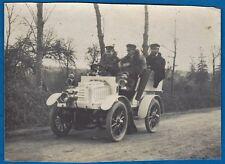 vintage photo old timer race car Darracq auto driver foto course Belgium 1903