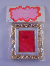Vintage Dollhouse Miniature Victorian Frame New 1:12 Scale
