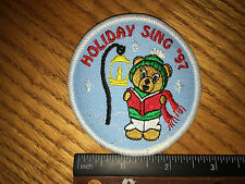 Girl Scout Patch - Holiday Sing '97 - New - Qty1