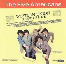Western Union/Sound of Love [Bonus Track] by The Five Americans (CD, 2006) MINT