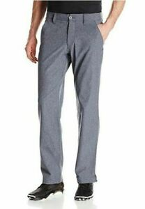 New Under Armour UA Men's Match Play Vented Pants Stealth Grey 1259430-008 30x32