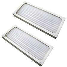 2x HQRP Air Cleaner Filters for Hamilton Beach 990051000 04383 04385 04384 04386