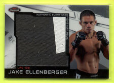 2011 Topps Finest UFC Jake Ellenberger Fight Mat Relic