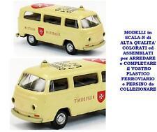 VOLKSWAGEN VW PULMINO FURGONE ANNI '60 SOCCORSO PROTEZIONE CIVILE SCALA-N LC5010
