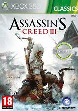 Assassin 'S CREED III -- Classics (Microsoft XBOX 360, 2013, DVD-BOX)