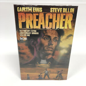 Preacher 25th Anniversary Omnibus HC DC Comics Black Label New Garth Ennis