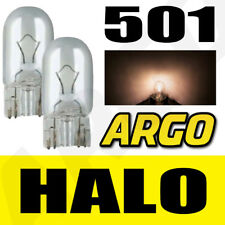 501 CLEAR HALOGEN T10 W5W 194 SIDELIGHT BULBS VOLVO S80 SALOON